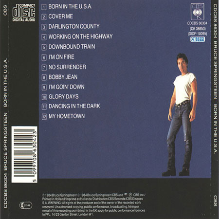 review born in the usa bruce springsteen